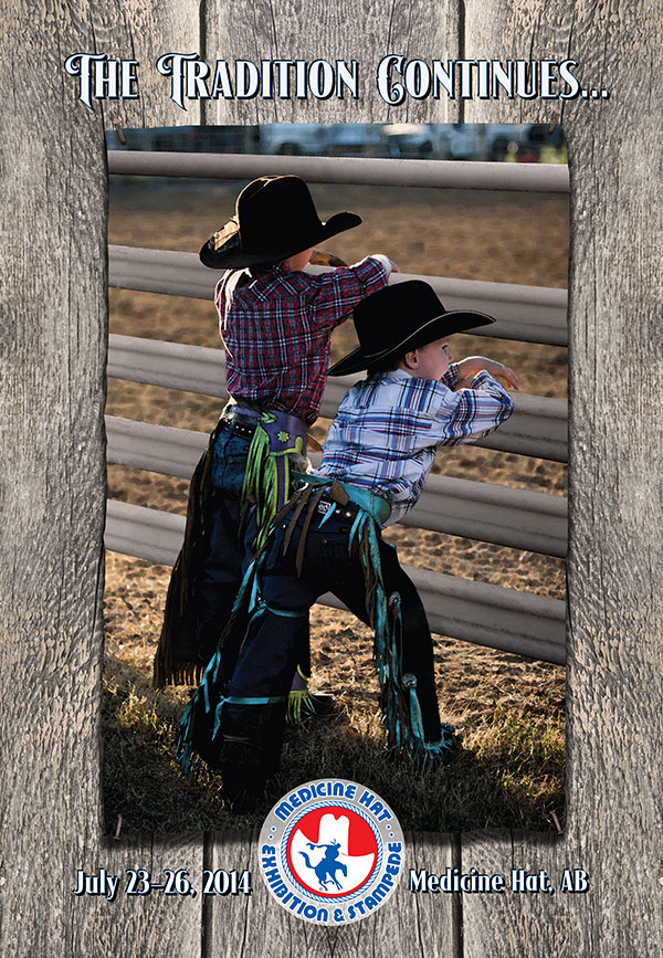 Medicine Hat Exhibition and Stampede Poster 2014