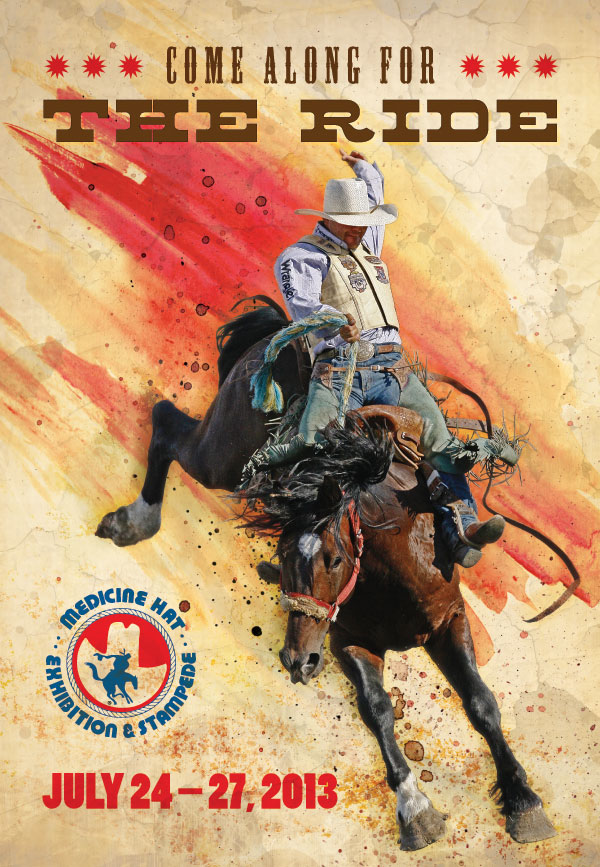 Medicine Hat Exhibition and Stampede Poster 2013
