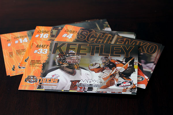 Tigers Hockey Collector's Photo Series