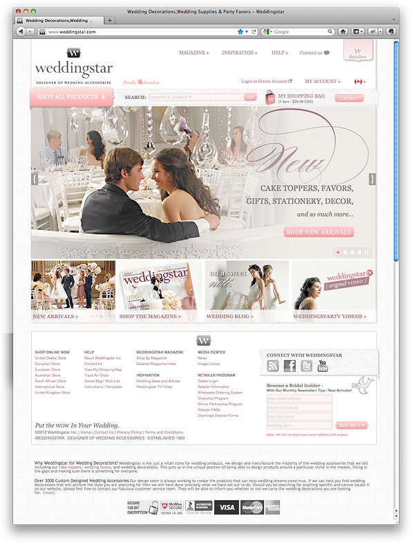 weddingstar.com Home Page